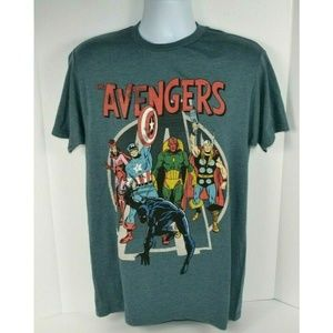Marvel Avengers Character Graphic T-Shirt
